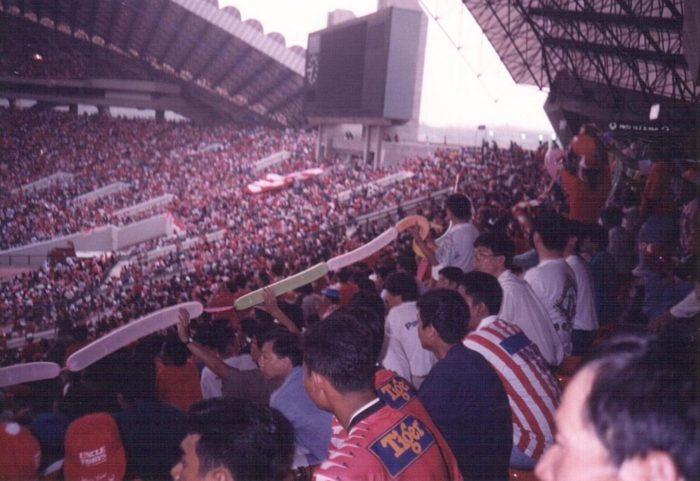 Singaporean supporters travelled to Pahang in 1994 - Photo: Cheah Koh Keong, courtesy of Singapore Memory Project